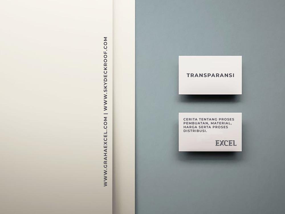 Transparansi Excel